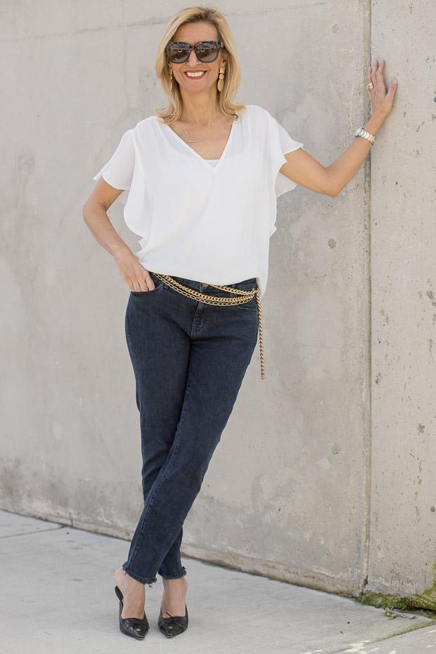 Parker Smith Skinny Crop Zinc Jeans