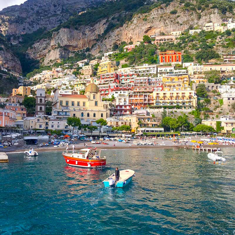 Positano In A Different Light