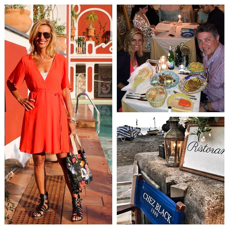 Le Sirenuse and Dinner at Chez Black