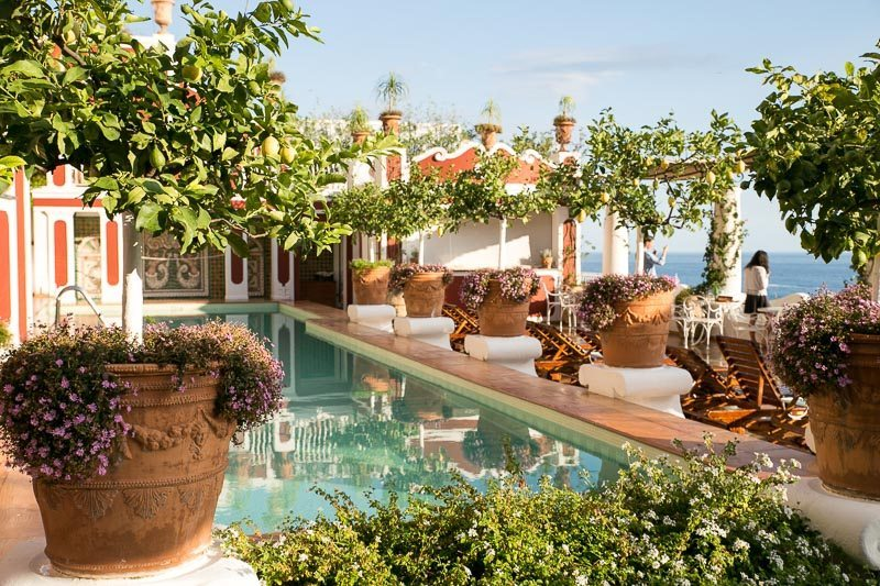 The Pool At Le Sirenuse