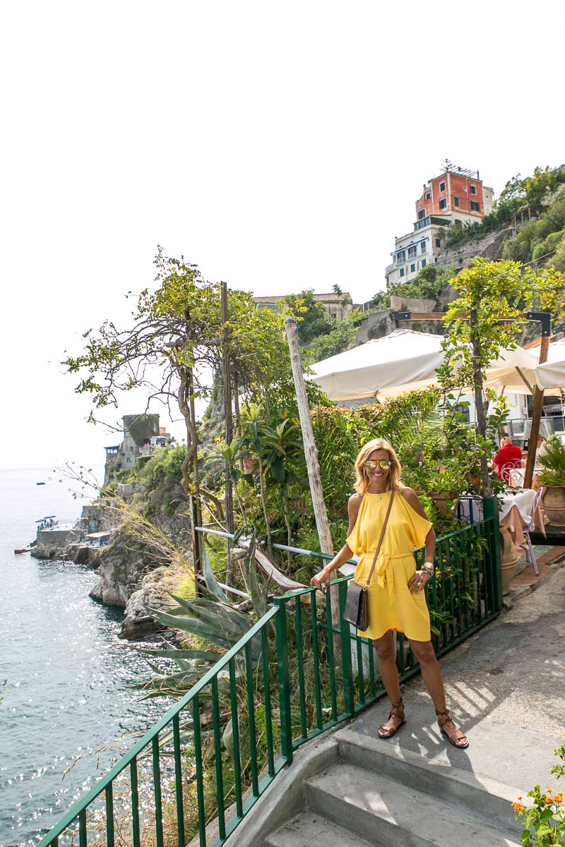 Lunch In Atrani - Everywhere We Went The Food Was Amazing !