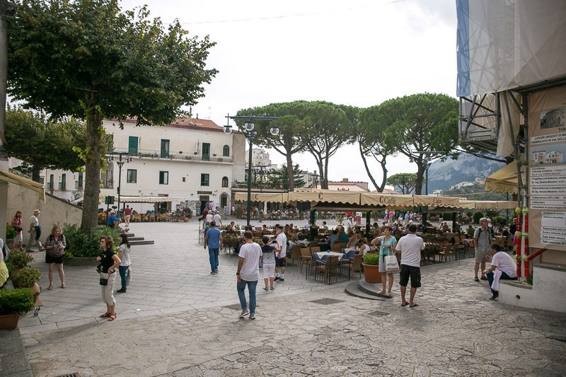 All Roads Lead Here - The Main Piazza In Ravello