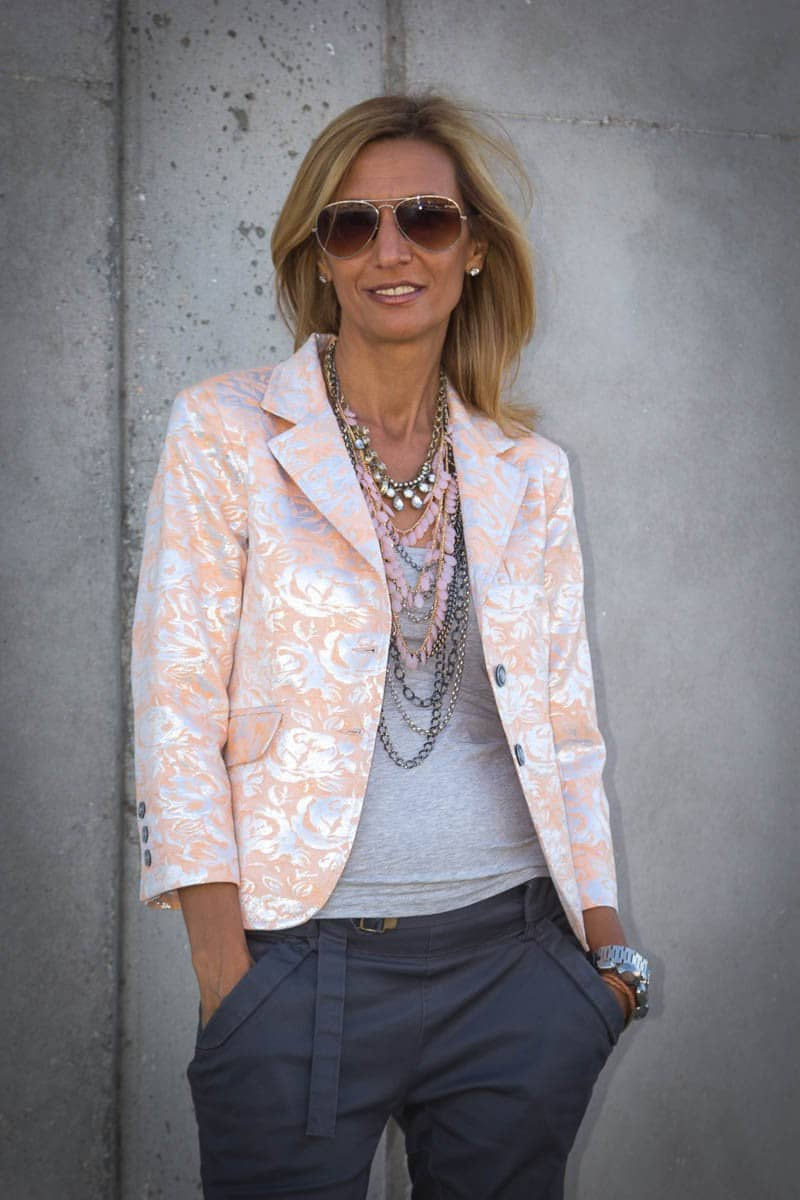Another look at our beautiful womens brocatto jacket (2 of 7)