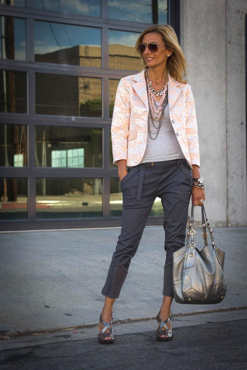 Another look at our beautiful womens brocatto jacket (5 of 7)