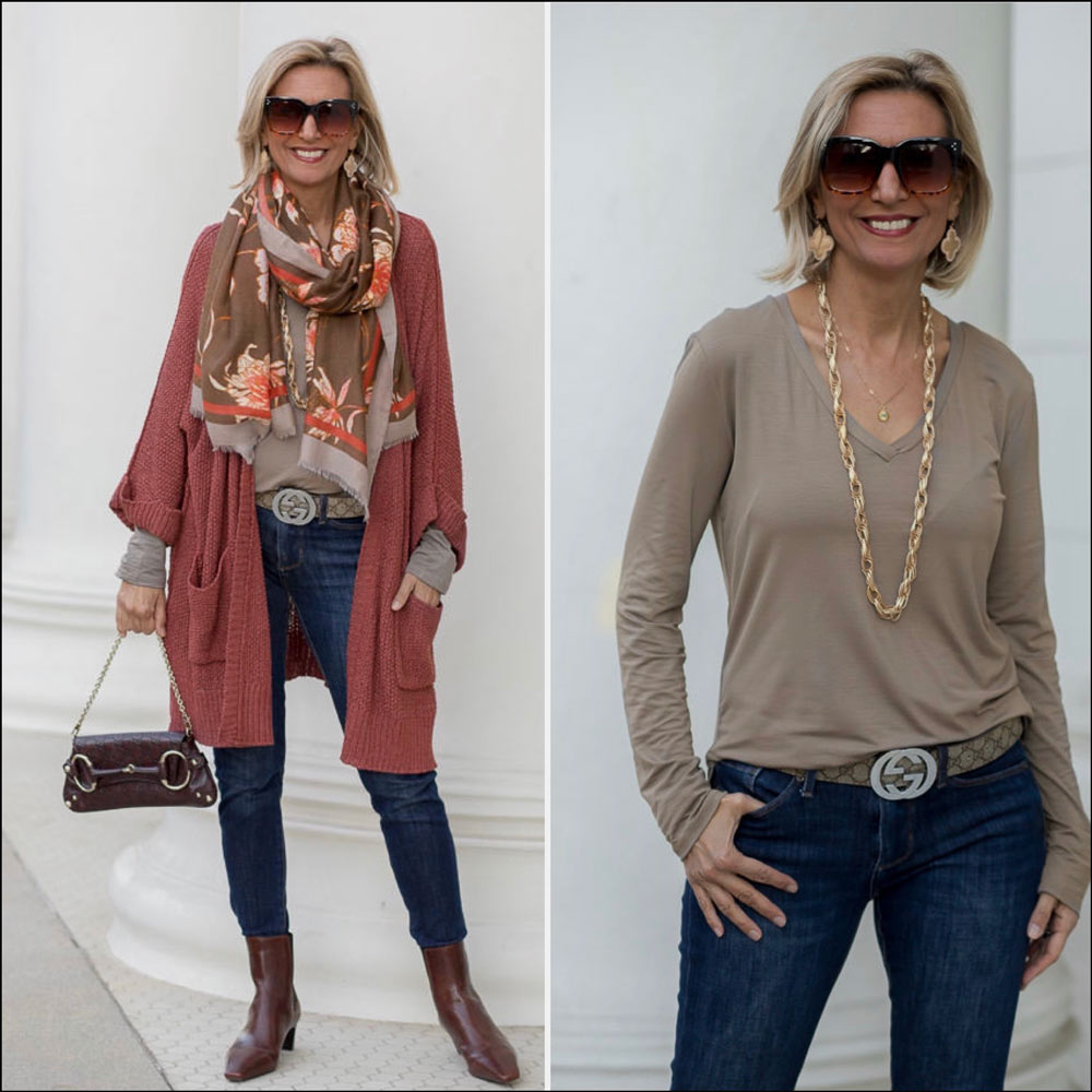fall fashion for women with beautiful fall colors