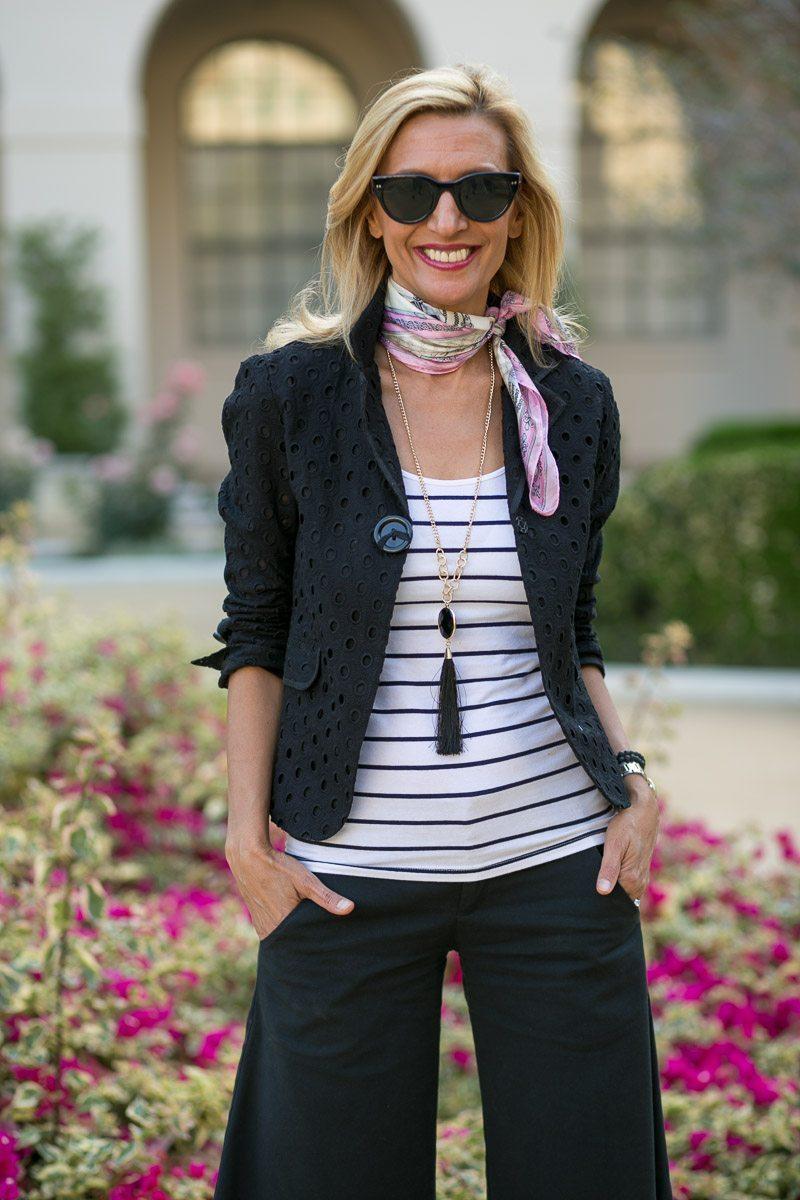 Black-Eyelet-Jacket-Silk-scarves-Jacket-Society-5472