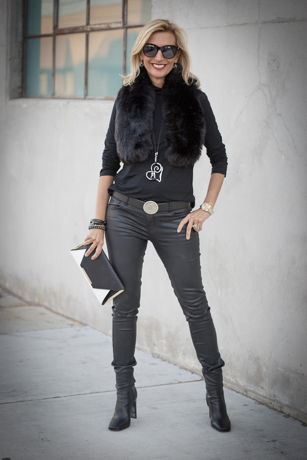Black White And Silver A Stylish Combo For Womens Fall and holiday Fashion