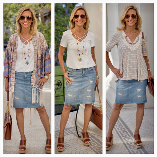 casual and chic summer tops