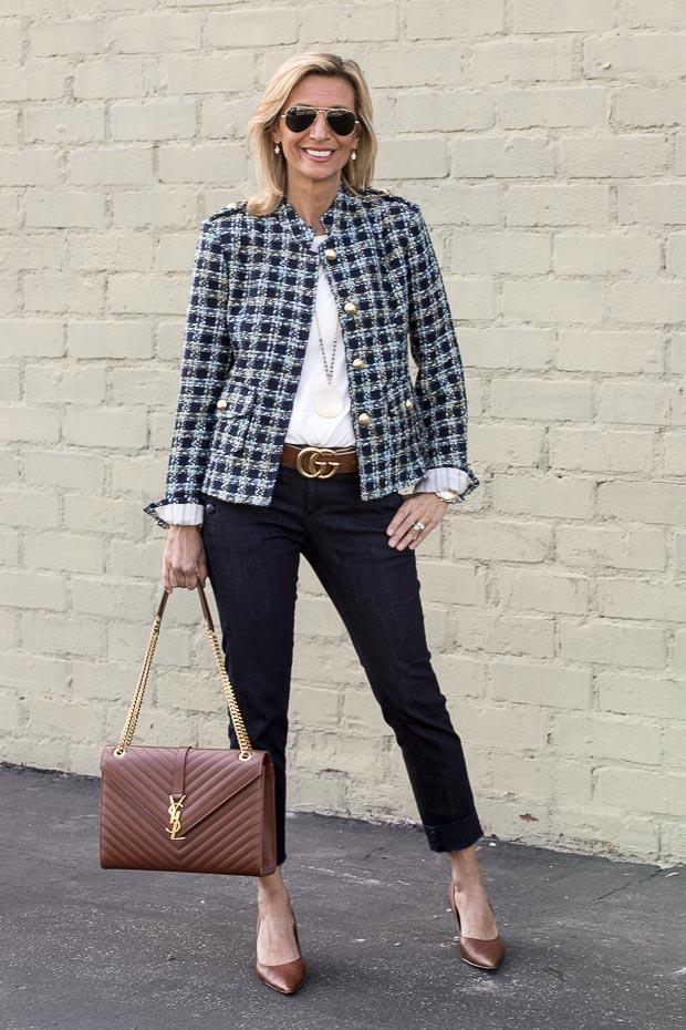 Boucle Blazer For Women A Classic
