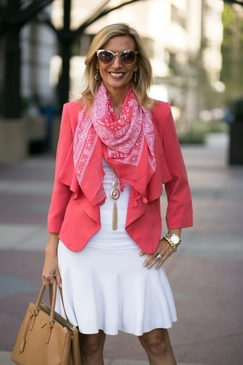 How-To-Pop-An-All-White-Outfit-with-color-Jacket-Society-5287