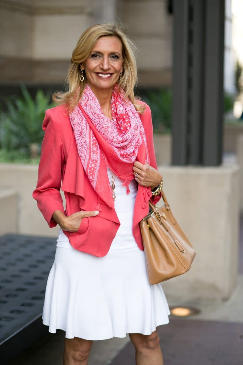 How-To-Pop-An-All-White-Outfit-with-color-Jacket-Society-5295