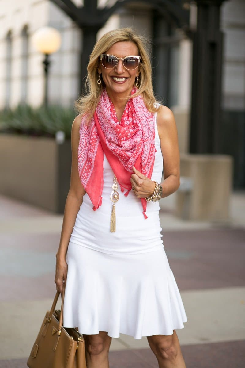 How-To-Pop-An-All-White-Outfit-with-color-Jacket-Society-5305