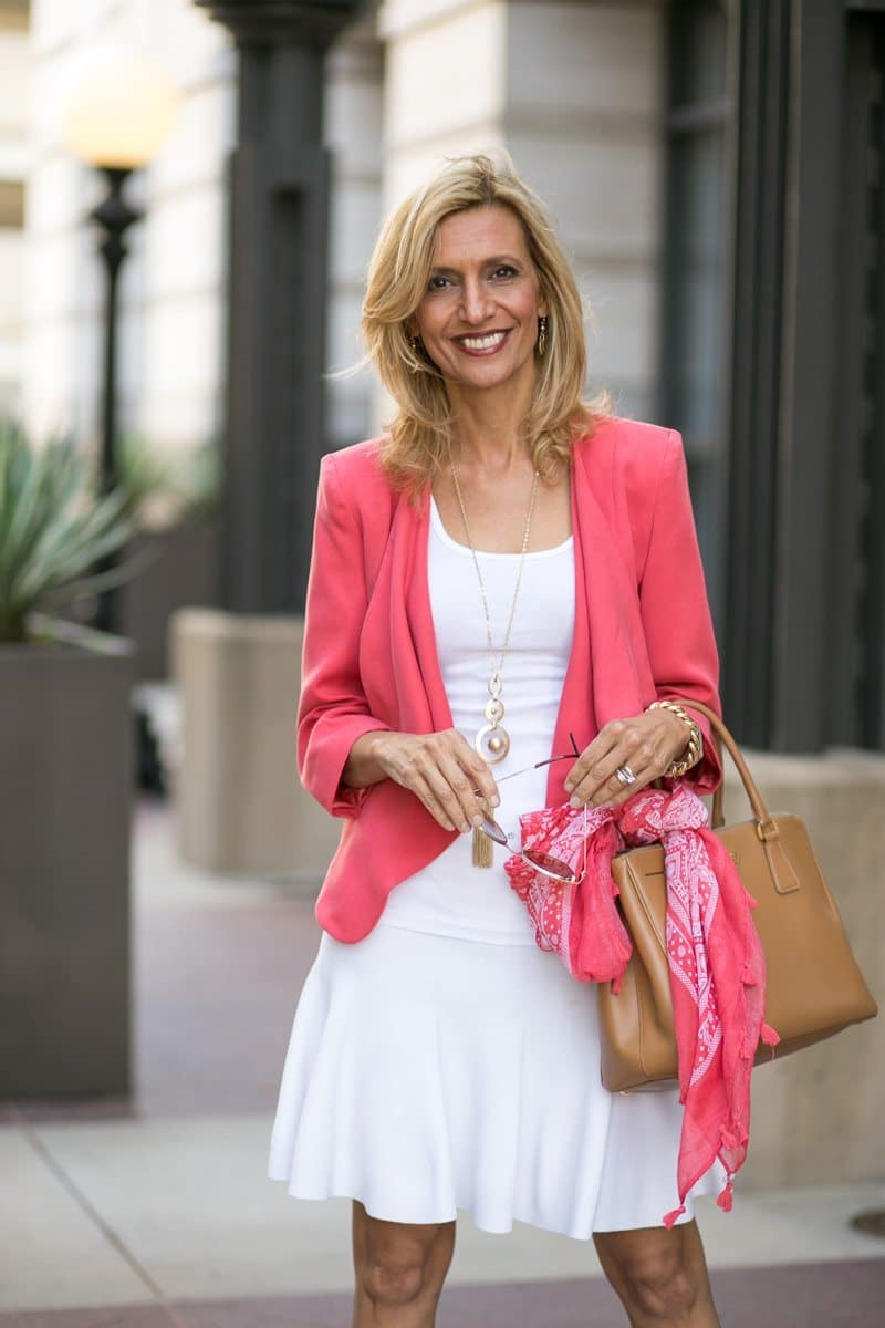 How-To-Pop-An-All-White-Outfit-with-color-Jacket-Society-5322