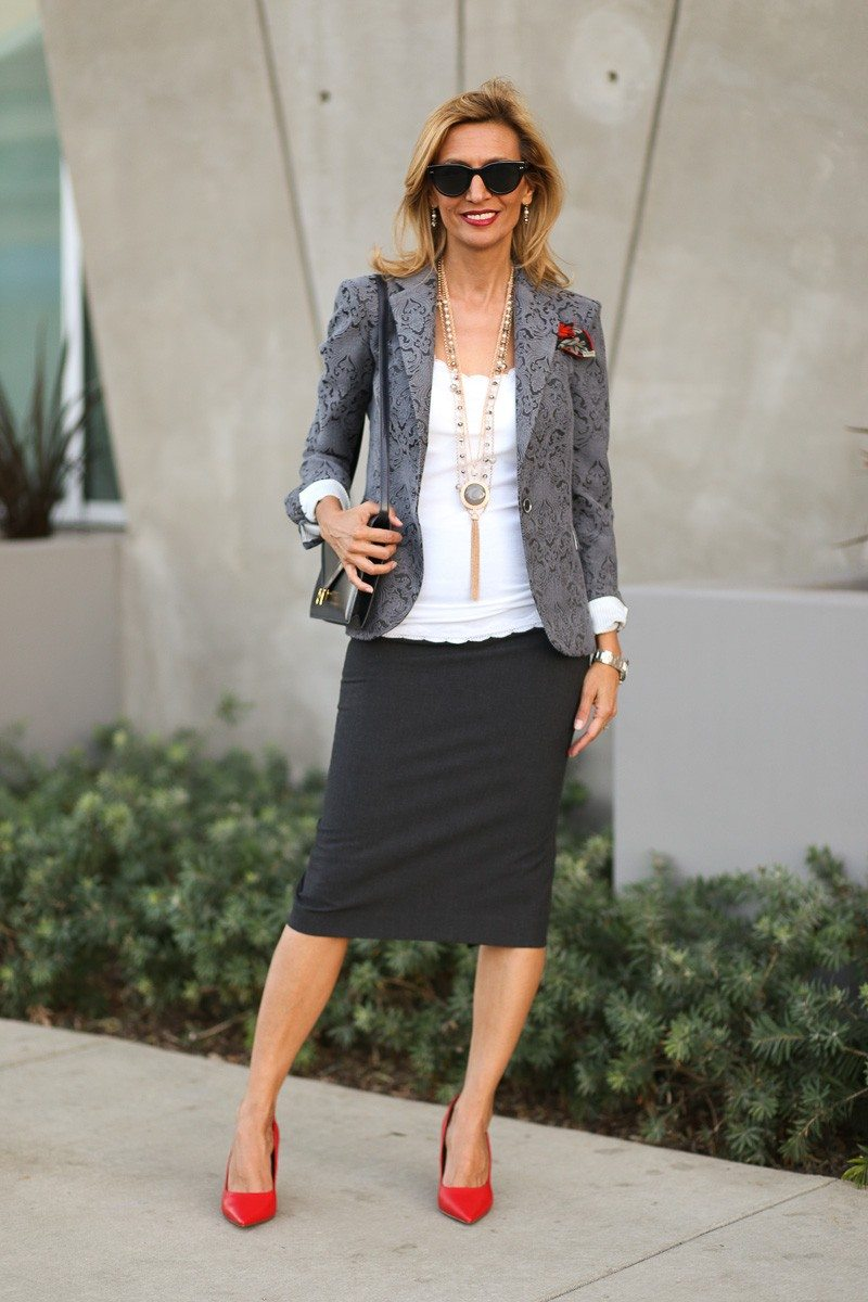 Jacket-Society-Fall In Love With Our Florence Jacquard Blazer-0750