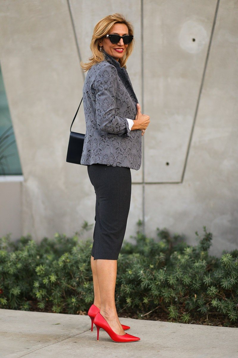 Jacket-Society-Fall In Love With Our Florence Jacquard Blazer-0758
