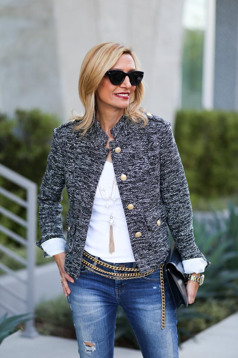 Jacket-Society-Our Chanel Inspired Coco Boucle Jacket-1351
