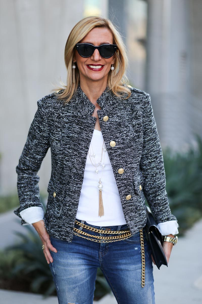 Jacket-Society-Our Chanel Inspired Coco Boucle Jacket-1352