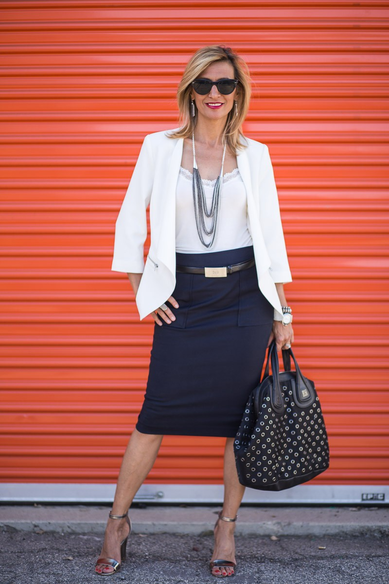Jacket Society Stephanie Jacket Styled For Day Time Look To Date Night Look-3014