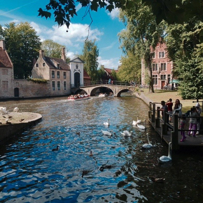 Jacket Society Trip to Europe Part 2 Bruges-
