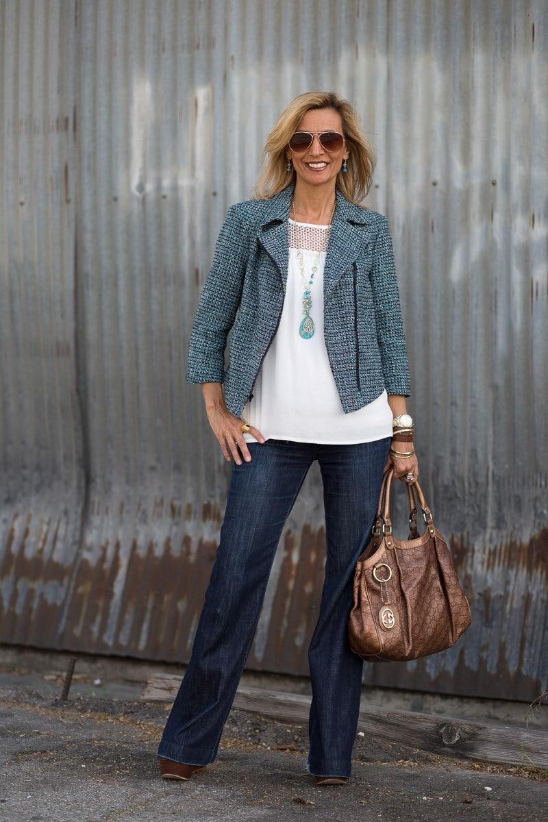 Jacket Society Womens Moto Jacket-2739