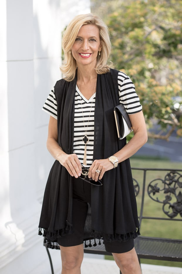 Black and white for a stylish summer Look