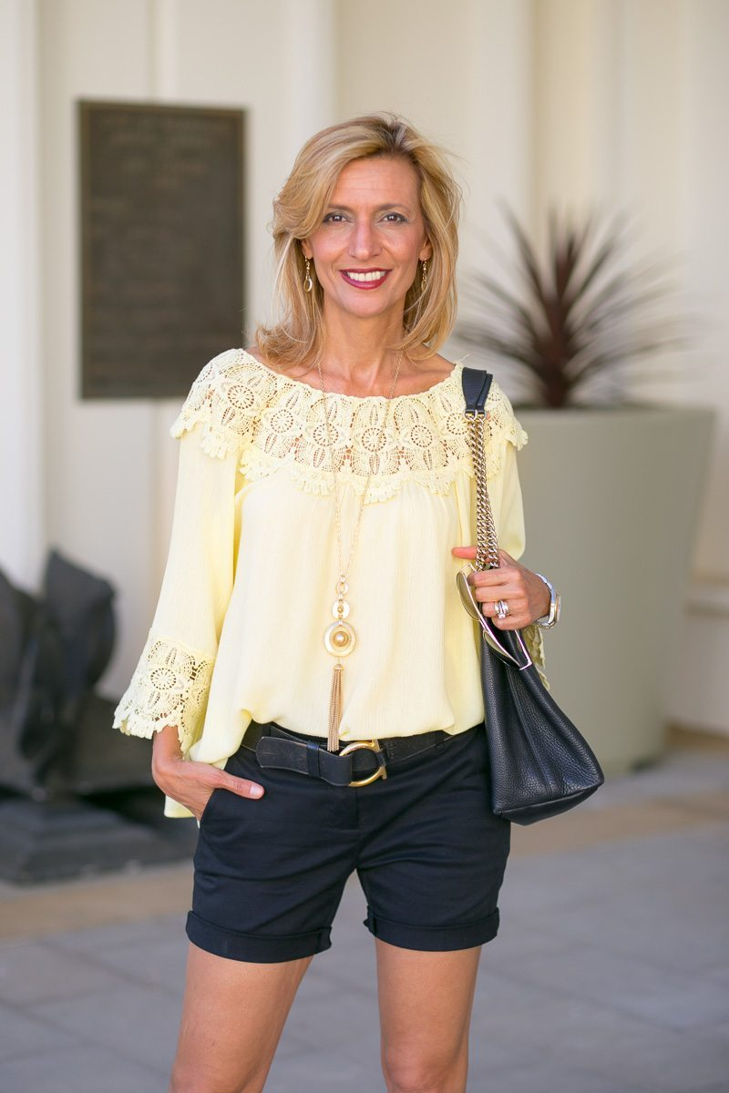Maize-Yellow-Womens-Off-The-Shoulder-Top-Jacket-Society-6048