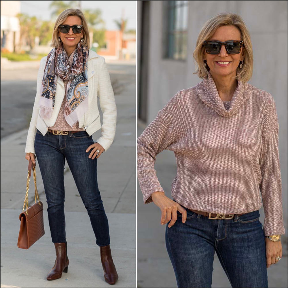 fall textures and patterns for women this season