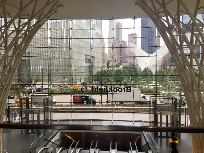Brookfield Place NYC - Love This Place - What A view - almost surreal