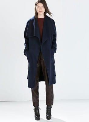 Click To See This Coat At Zara.com