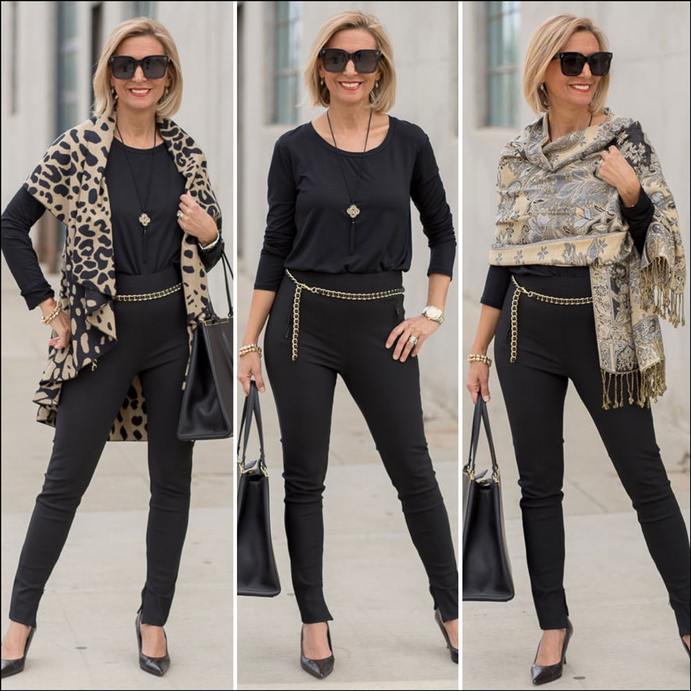 classic color combos for womens fall outfits