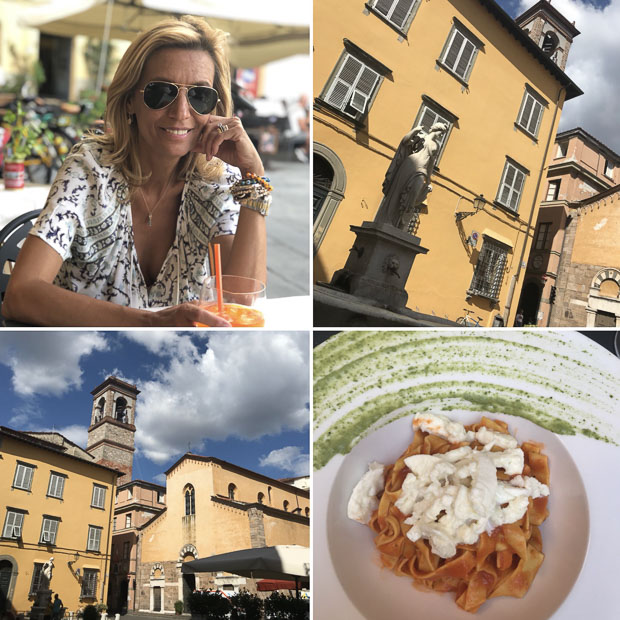 Our Trip To Italy, Visiting the City Of Lucca