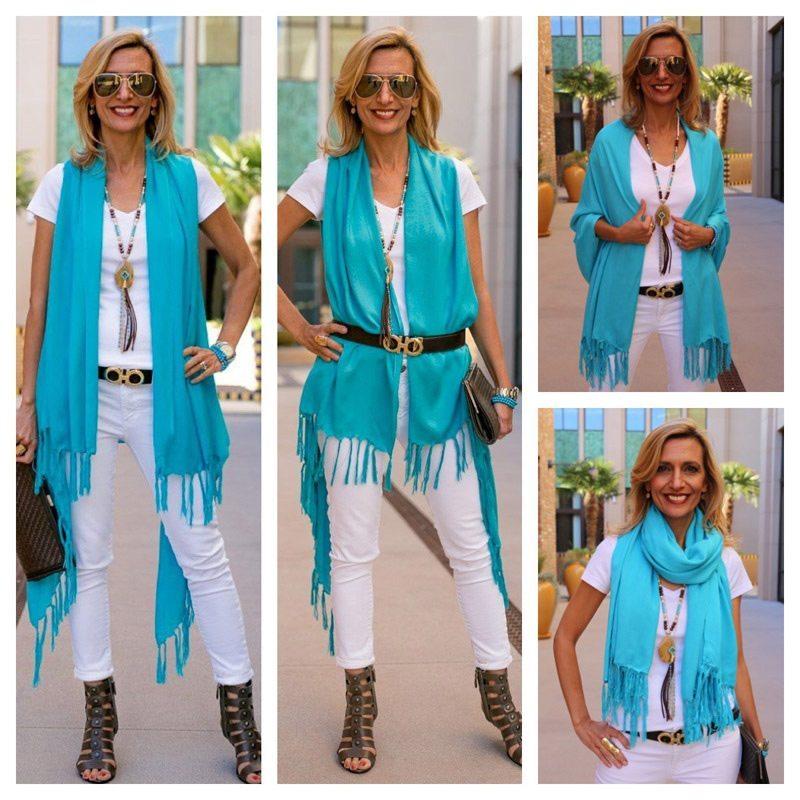 Turquoise-Shawl-Vest-With-Fringe