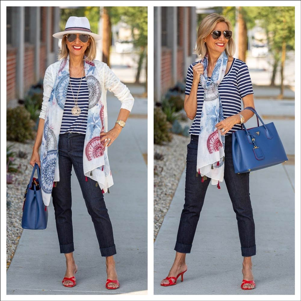 July Fourth Outfit Ideas for Women Red White And Blue