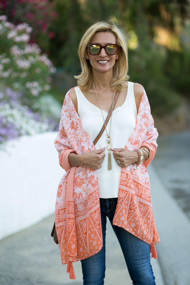 Womens-Tangerine-Print-Tassel-Wrap-Jacket-Society-5984