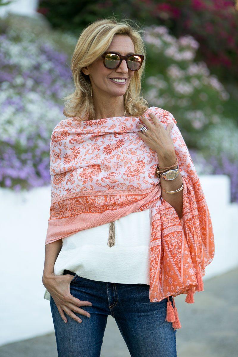Womens-Tangerine-Print-Tassel-Wrap-Jacket-Society-5990