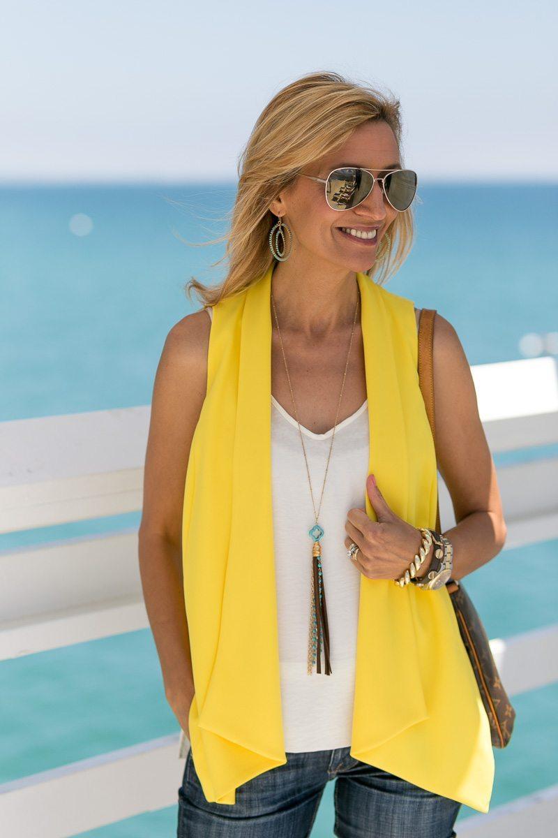 Womens-Yellow-Vest-Malibu-Pier-Jacket-Society-5679