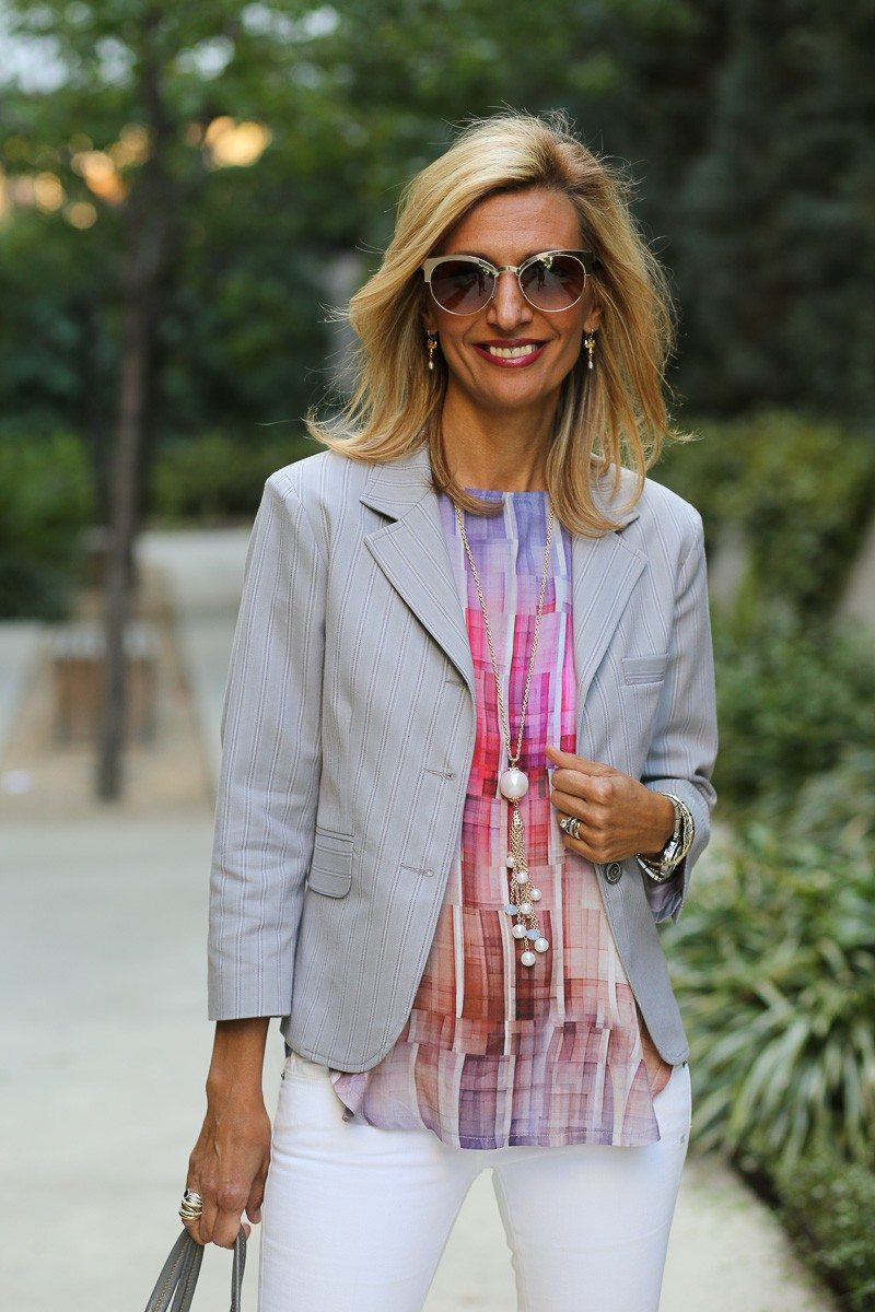 jacket society Take A Look At Our Savannah Stripe Blazer Styled Two Ways-3852