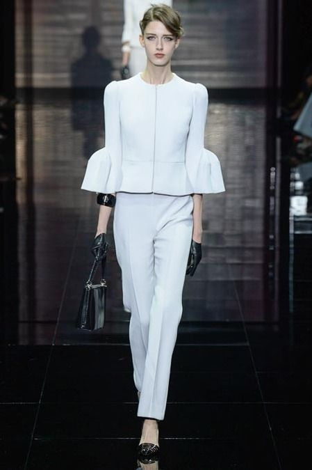 Armani Prive Couture Paris Fall 2014